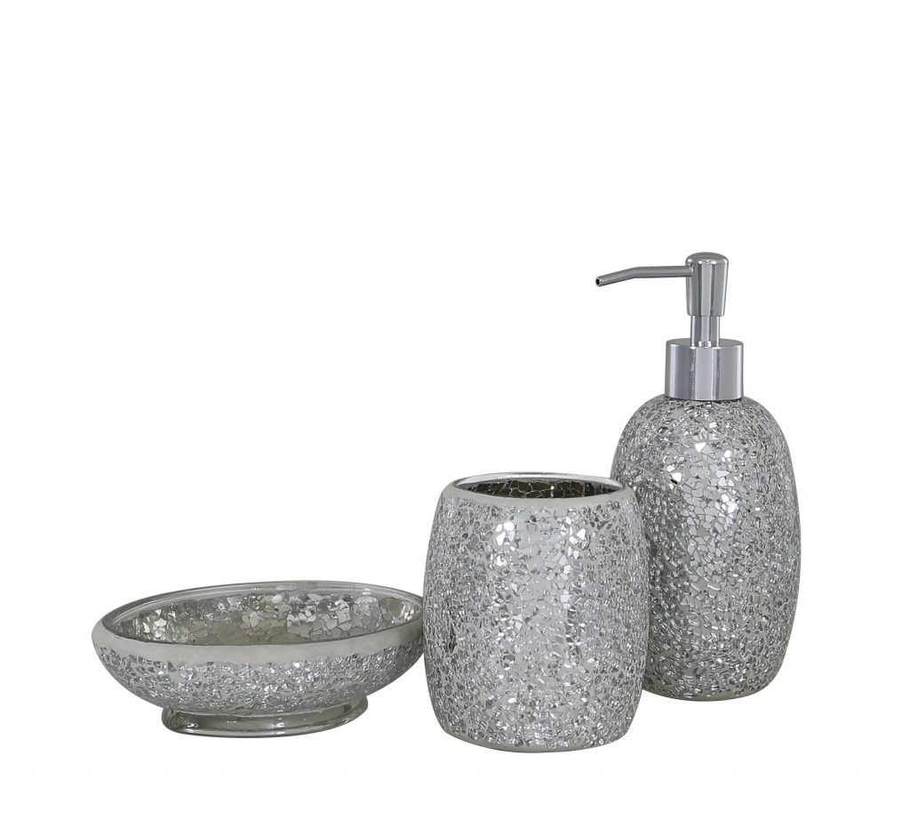 Belfry Bathroom Mosaic 3 Piece Bathroom Accessories Set Reviews