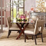 Bennett Dining Table Base Mahogany The Table I Made You Look At At
