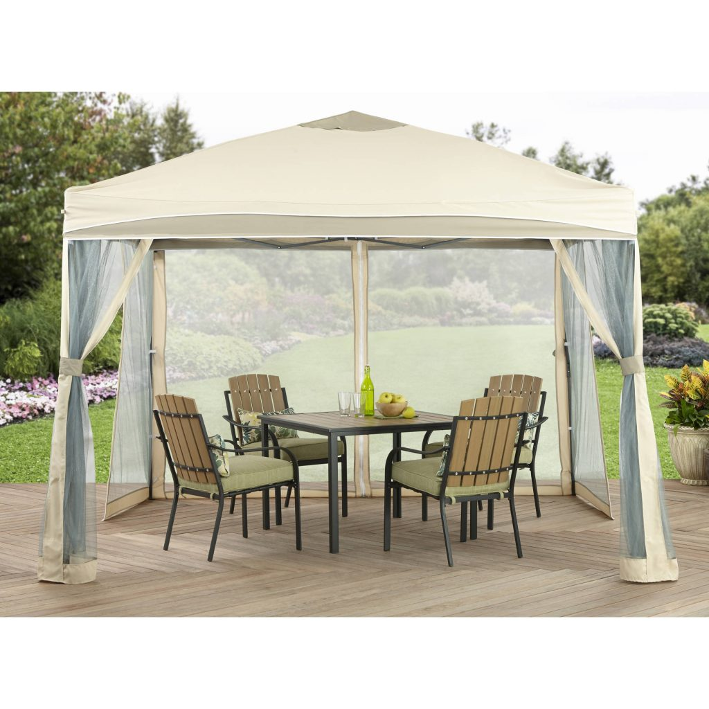 Better Homes And Gardens 10 X 10 Lawrence Outdoor Portable Patio Gazebo