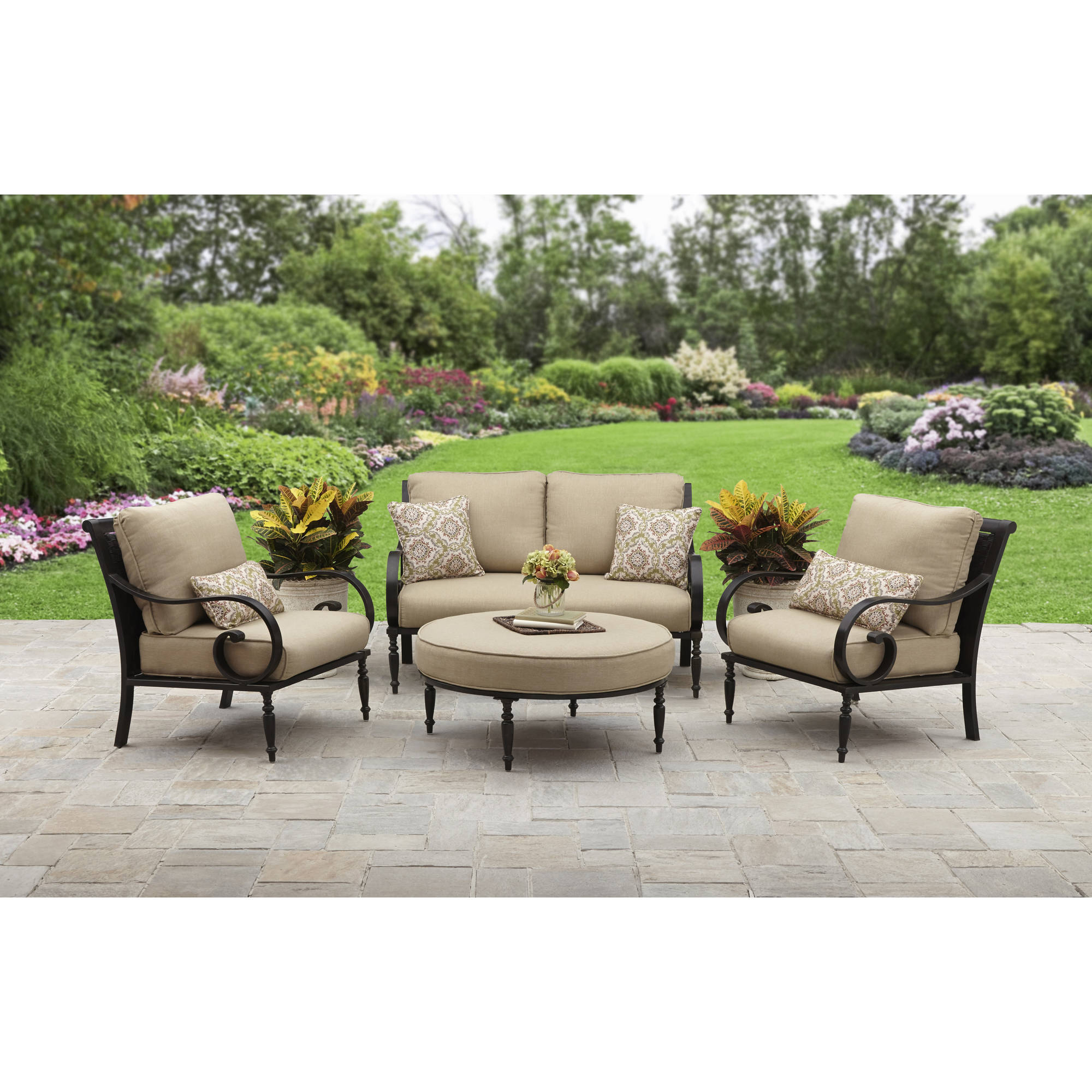 Better Homes And Gardens Englewood Heights Ii Aluminum 4 Piece