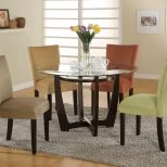 Bloomfield Cappuccino Round Dining Room Set From Coaster Coleman
