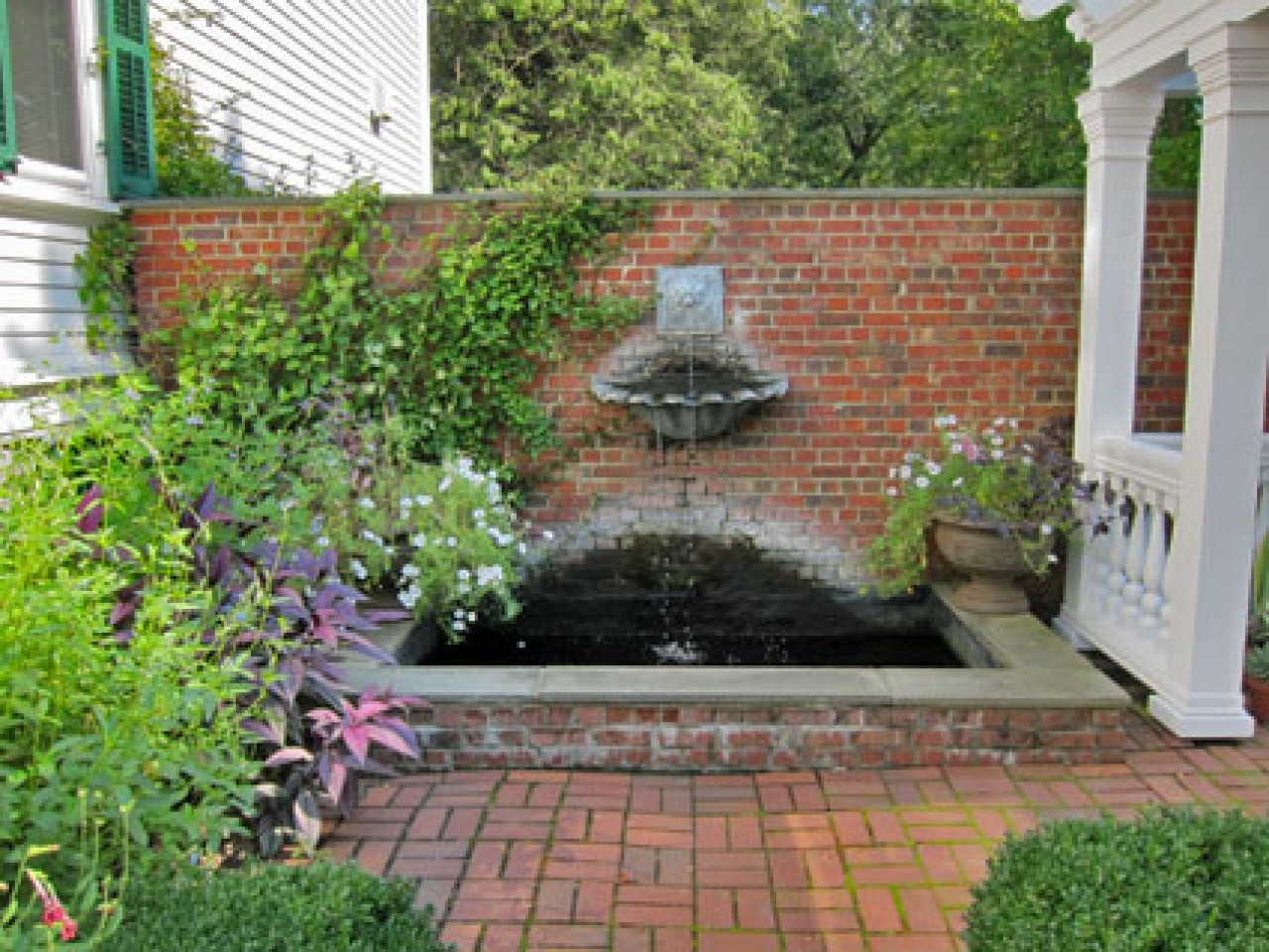 Block Paving Ideas For Gardens, Brick Patio Wall Designs Breathtaking Design Small Ideas With And Layjao