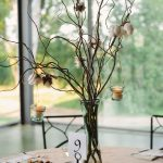 Branch Mason Jar Vases