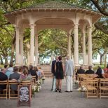 Charleston Outdoor Wedding Ceremony Location Gazebo White Point