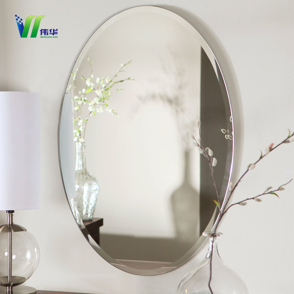 China Glass Wall Bathroom Decorative Mirrors For Home Photos