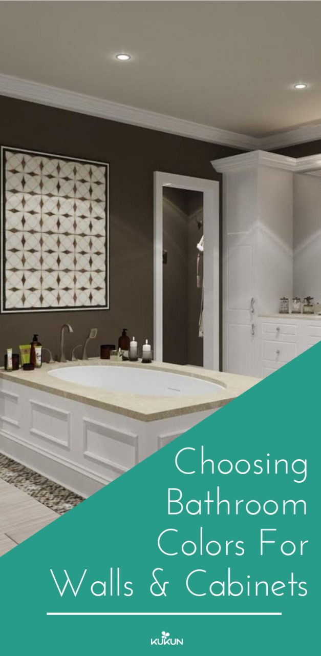 Choosing Bathroom Colors For Walls And Cabinets Latest On Home