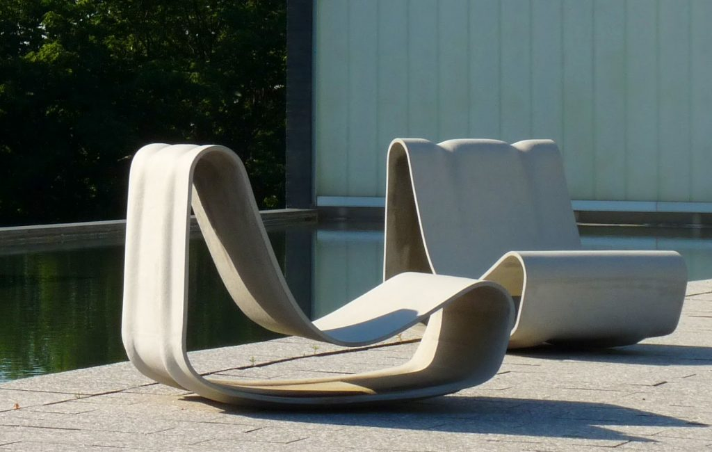 Concrete Loop Modern Hi Quality Outdoor Furniture Designs Chair