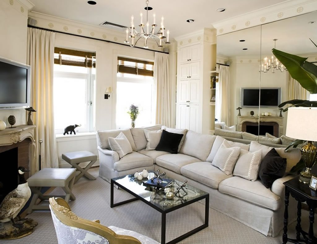 Contemporary Chic Living Room Decorating Ideas Amberyin Decors