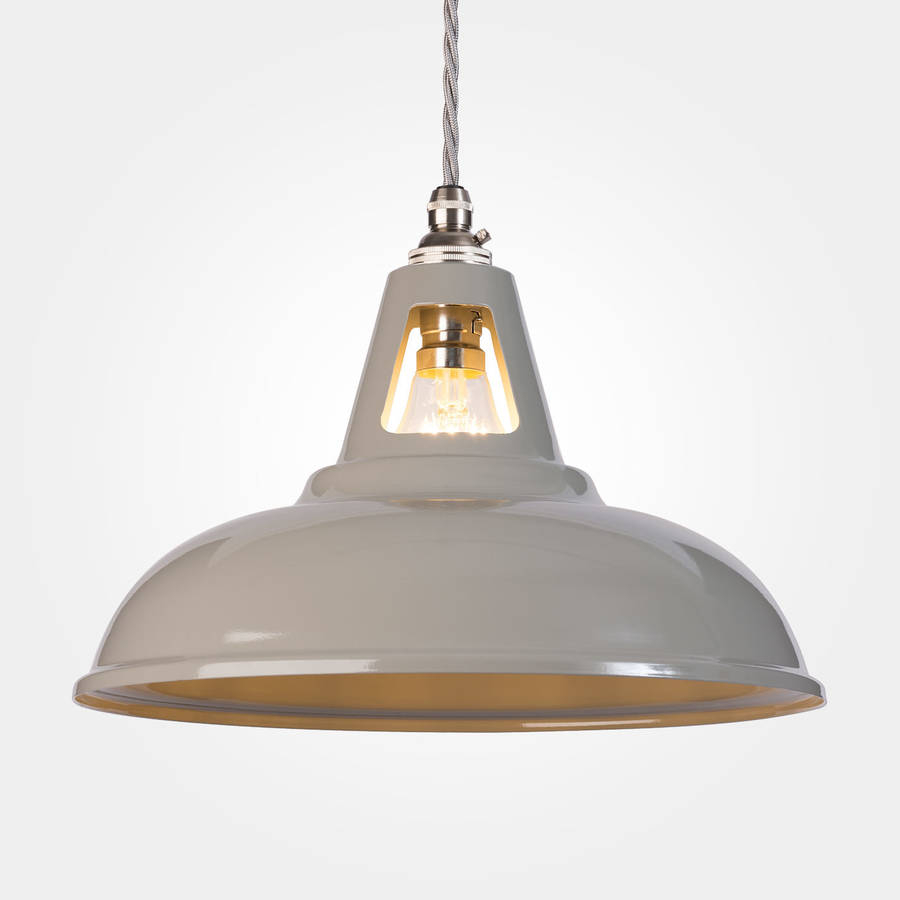 Coolicon Industrial Pendant Light Powder Coated Artifact Lighting