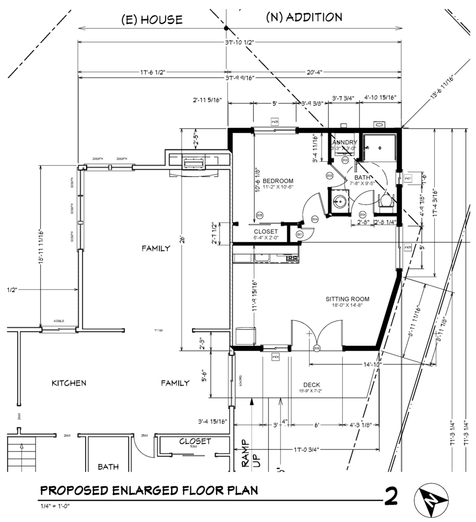 Cost To Design And Permit A One Bedroomone Bathroom Addition With