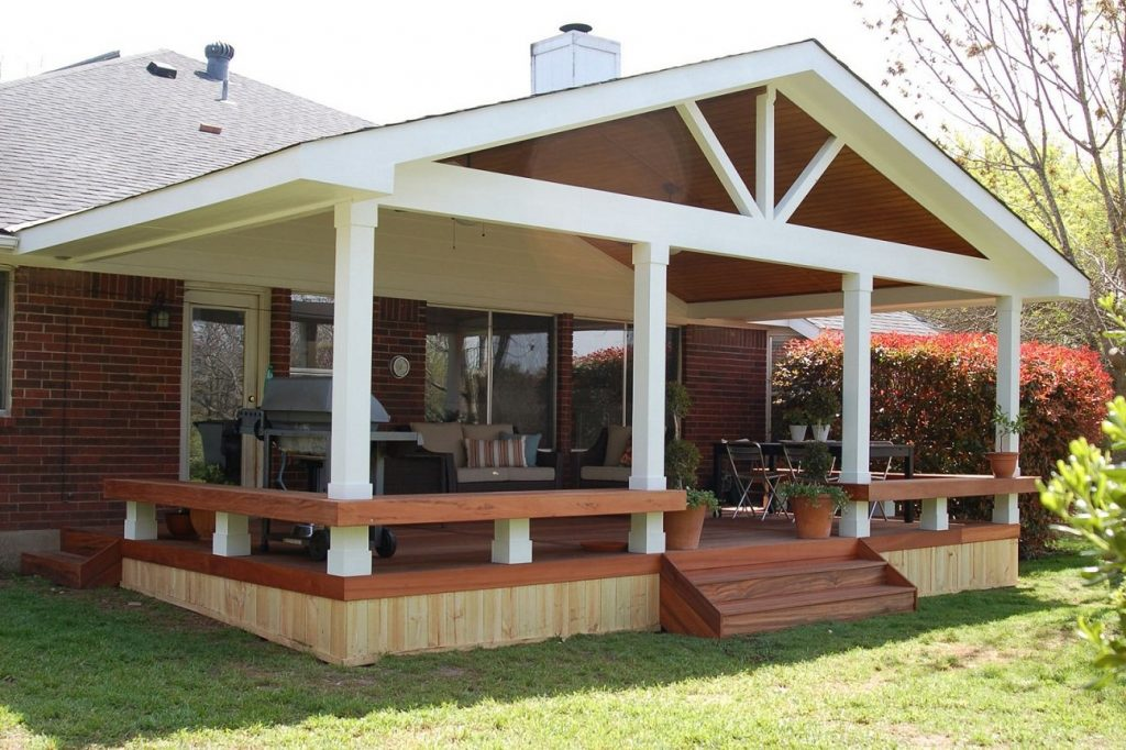 Covered Patio Designs To Renew The Atmosphere Pixelbox Home Design