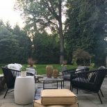 Creating An Outdoor Space For Summer Living Most Lovely Things