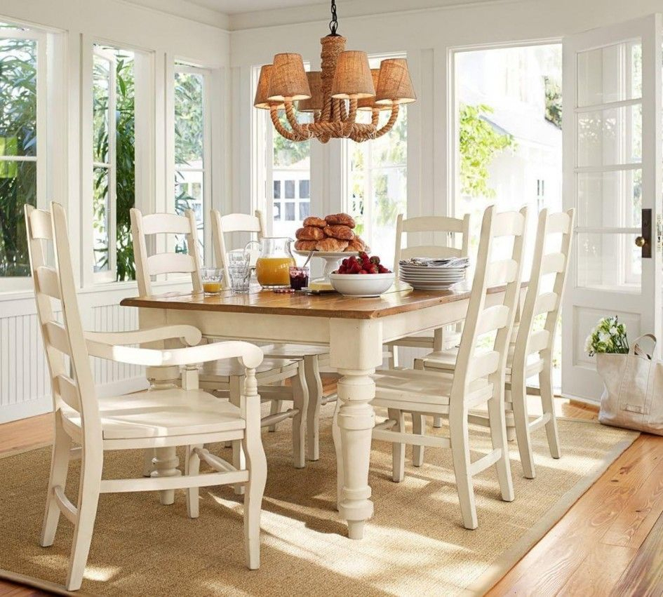 Creative Pottery Barn Kitchen Table Sets