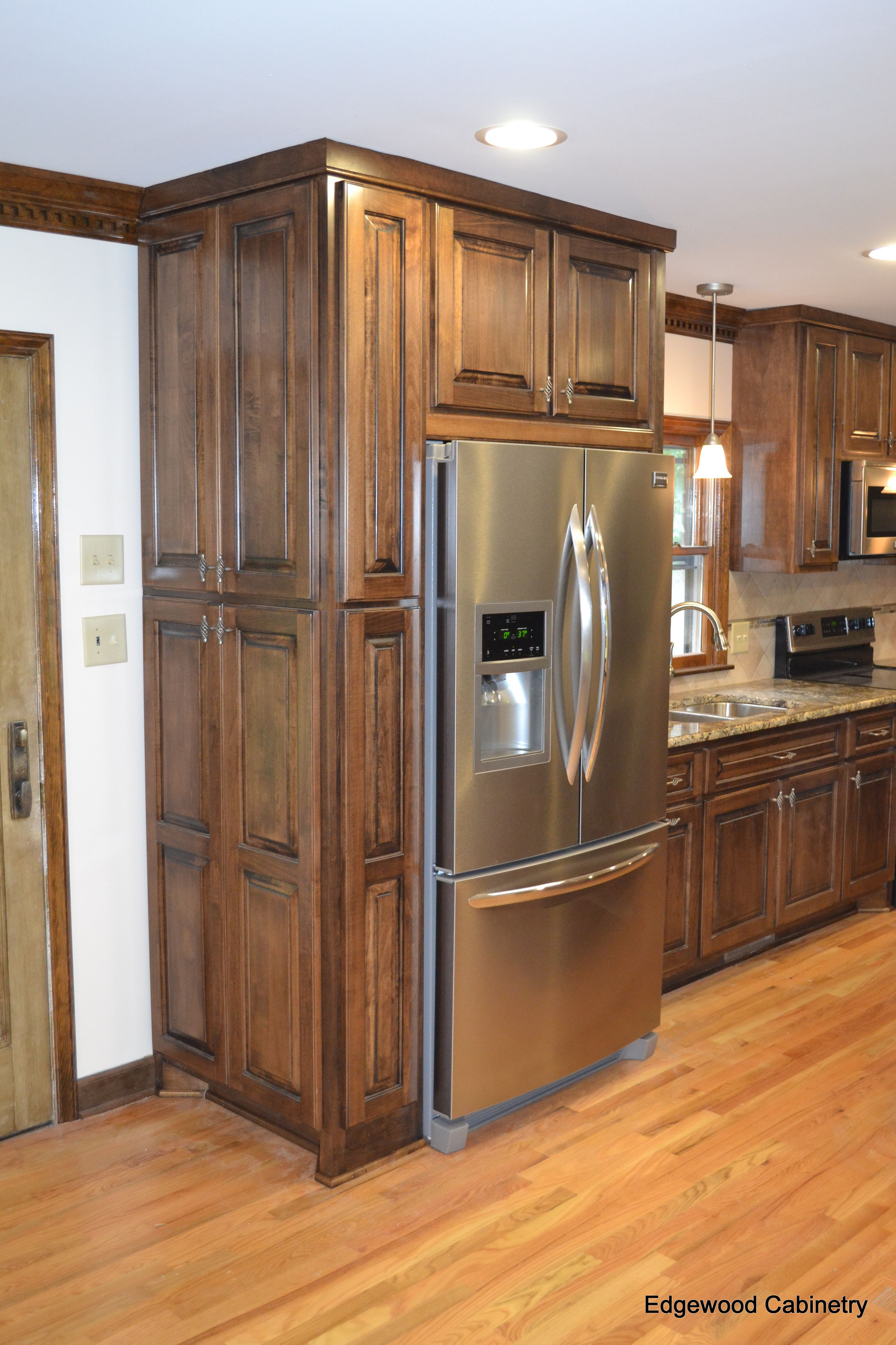 Custom Maple Cabinets Finished In A Walnut Stain And Then ... on Maple Cabinets  id=29982