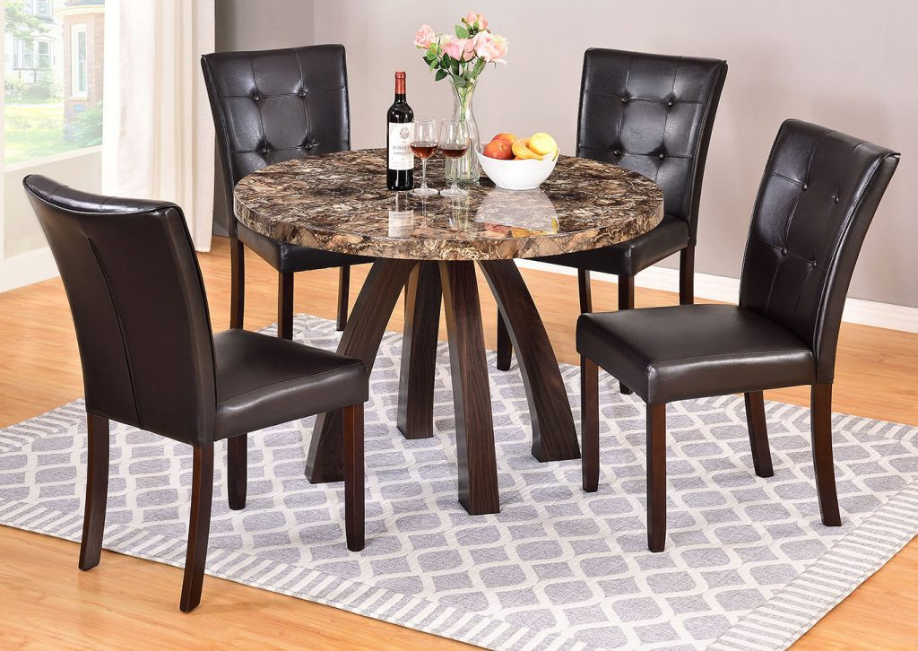 Deals More Furniture Philadelphia Pa Round Faux Marble Dining Table