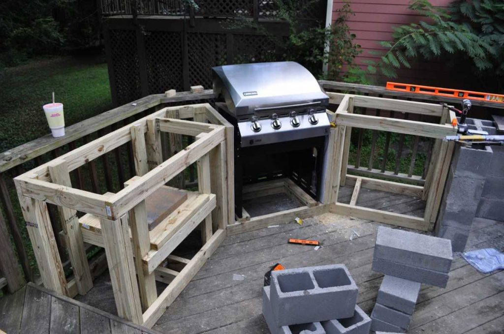 Decorating Built In Bbq Design Ideas Cool Outdoor Kitchen Ideas