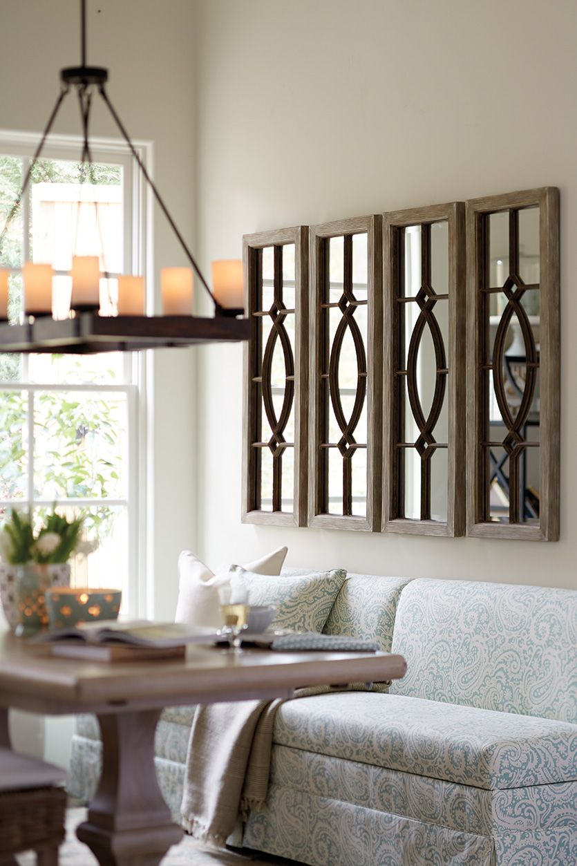 Decorating With Architectural Mirrors Living Room Pinterest
