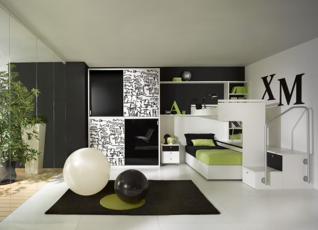 Decorating With Grey Green And Black And White Kids Google Search