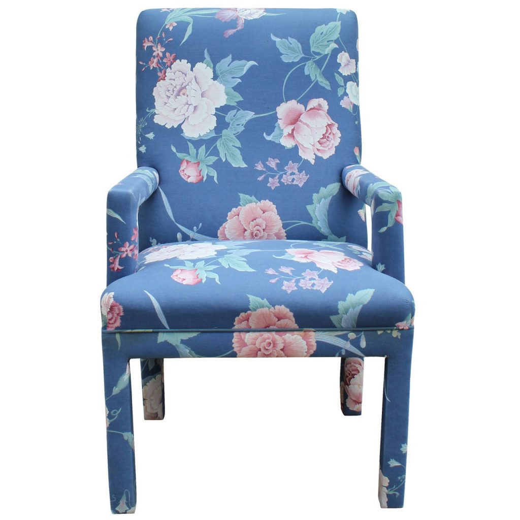 Dining Room Beautiful Upholstered Dining Room Chair Chic Flowered