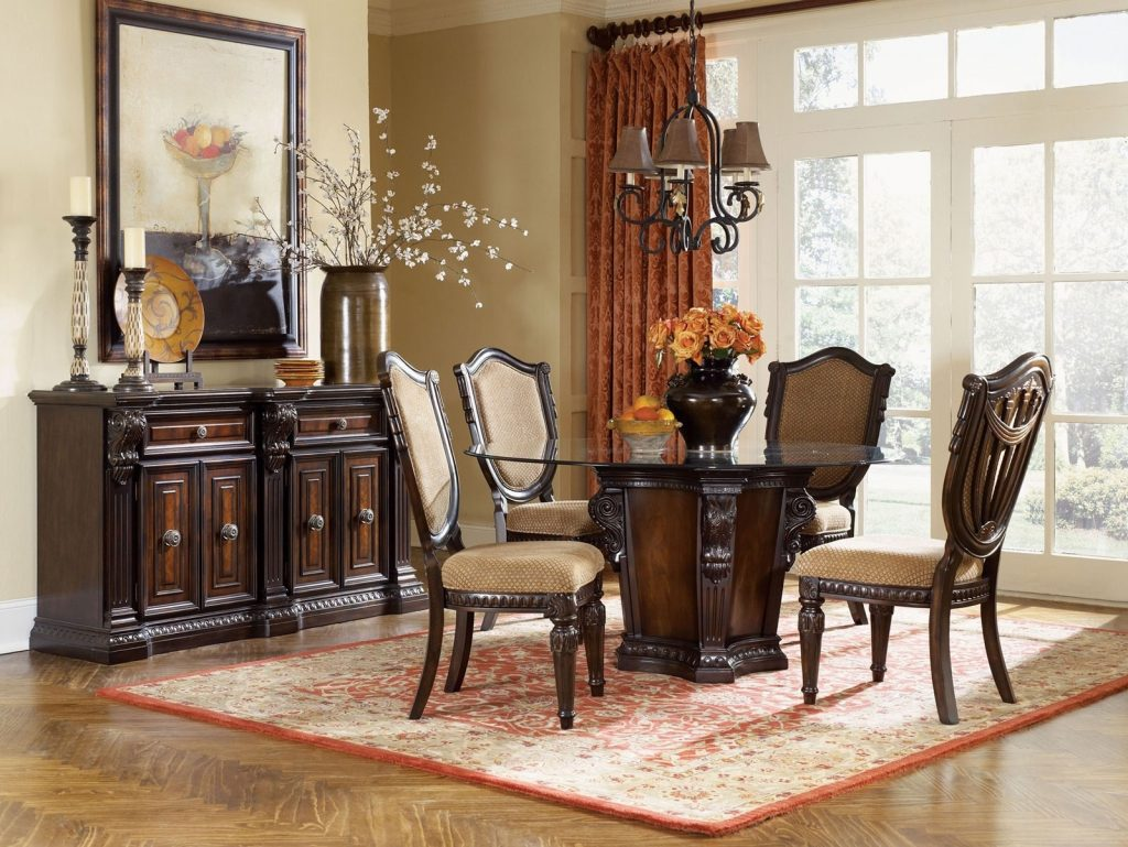 Dining Room Buffet Property Living Decorating Beautiful Lamps For