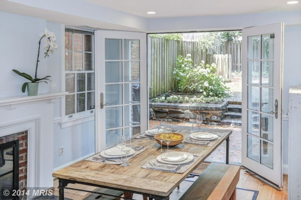 Dining Room French Doors To Garden Theres No Place Like My Dream Home