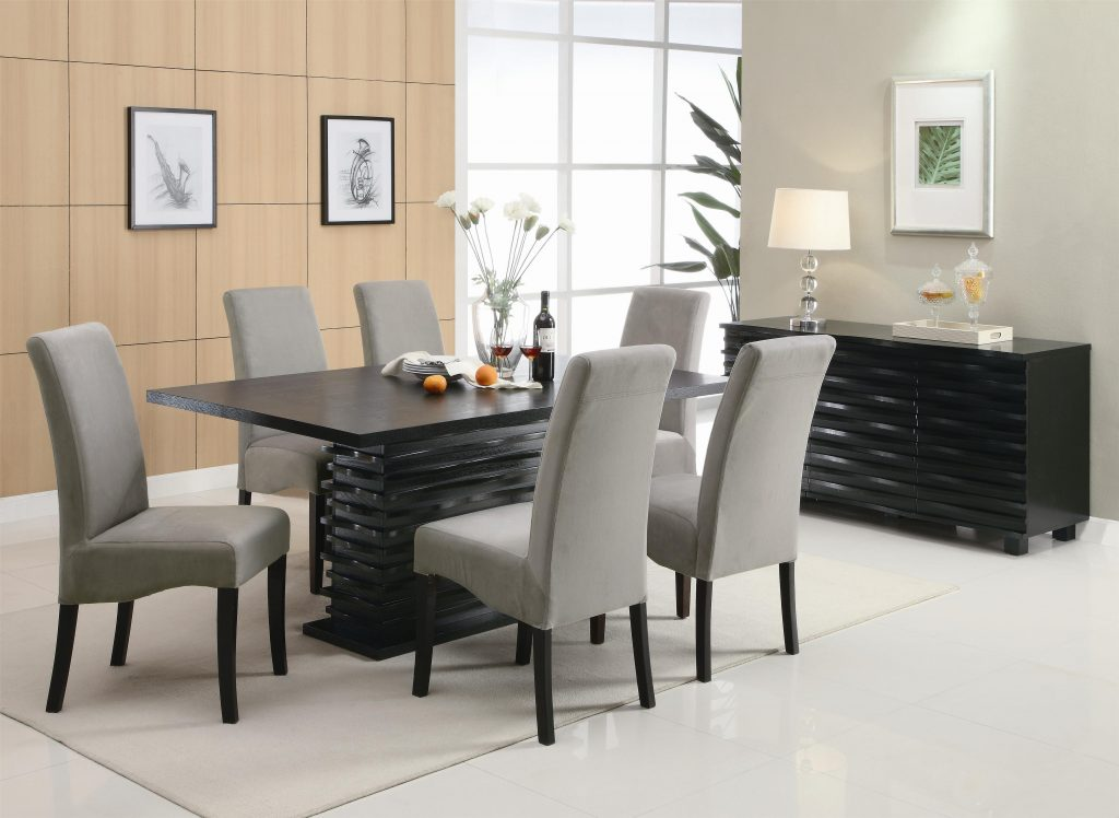 Dining Room Modern Dining Furniture Large Modern Dining Table Modern