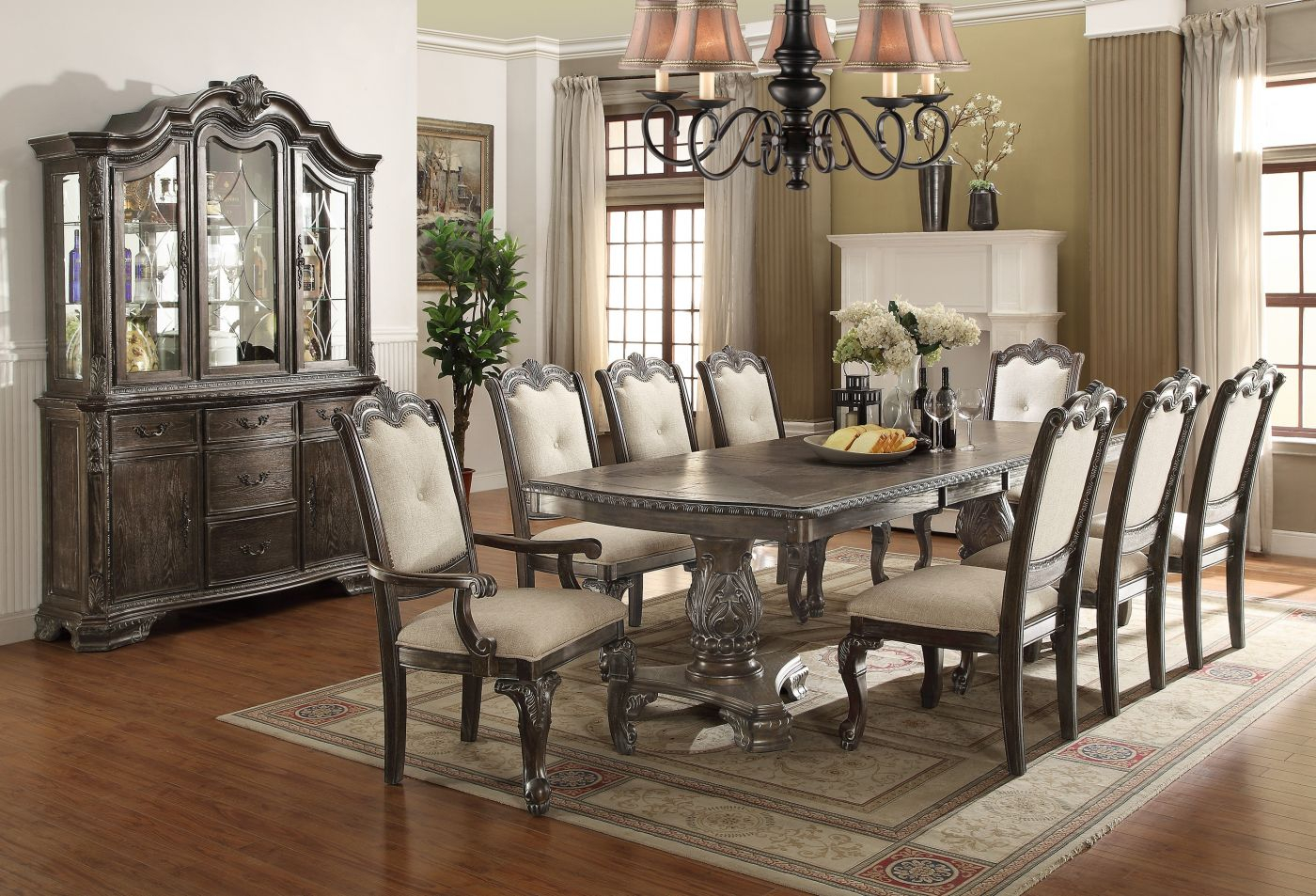Dining Room Set Cherry Dining Table Small Dining Room Sets Formal Layjao