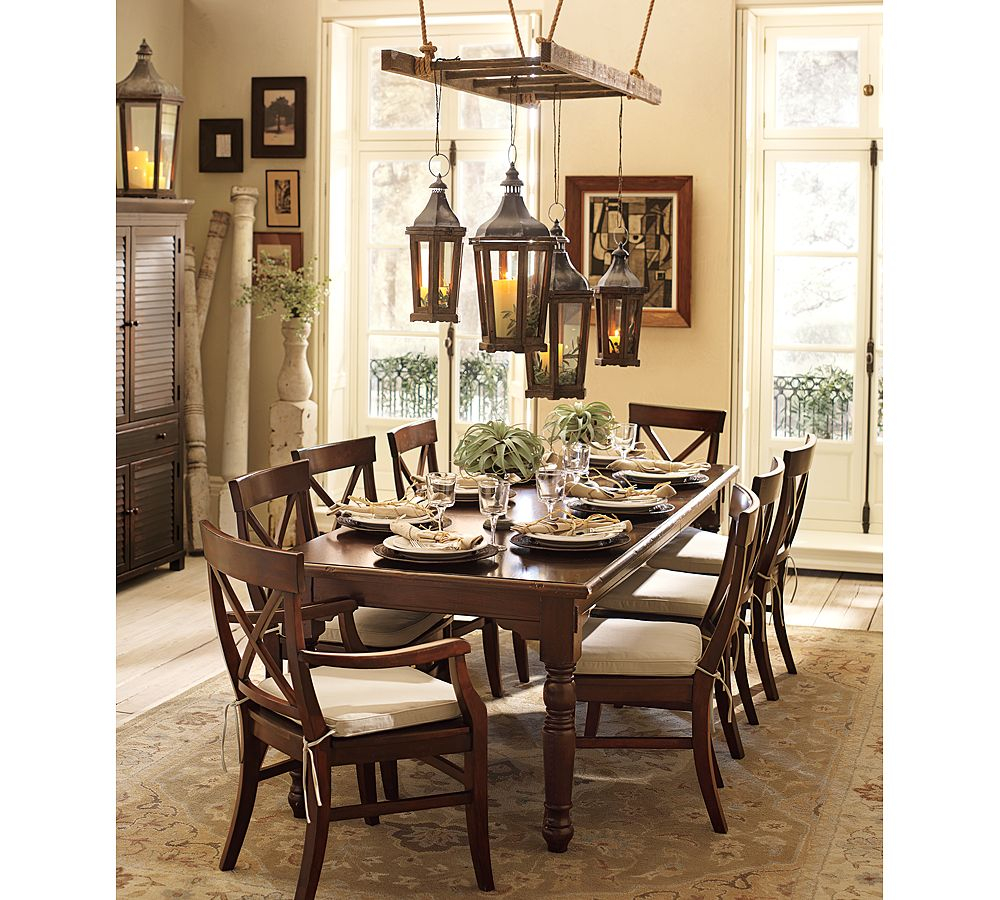 Dining Room Set Pottery Barn Bar Table Pottery Barn Mahogany