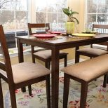 Dining Room Set White Dining Room Table With Bench And Chairs