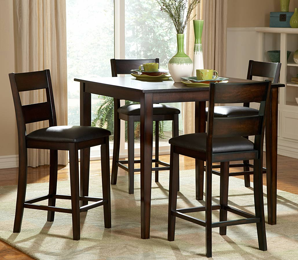 Dining Tables Stunning High Top Dining Table Sets Bar Height Table ...