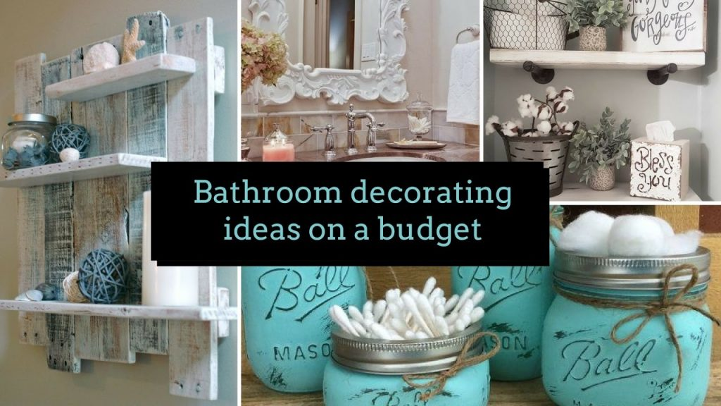 Diy Bathroom Decorating Ideas On A Budget Home Decor