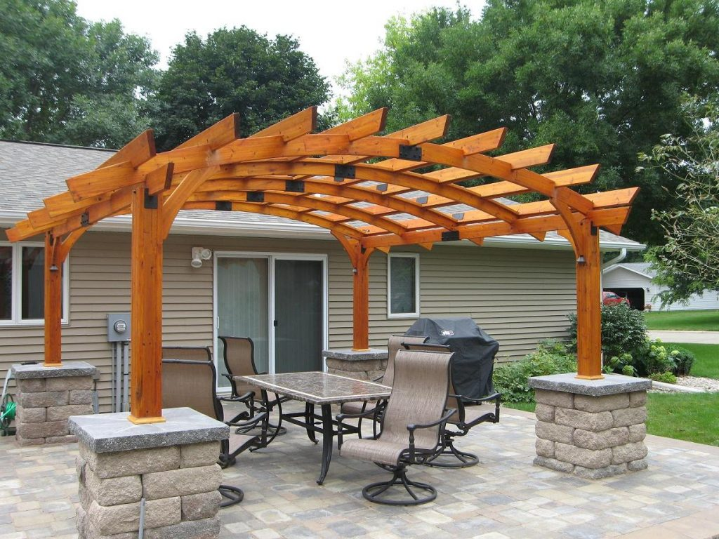 Download Pergola Designs Pictures Garden Design Throughout Pergola