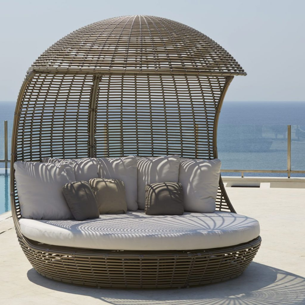 Drone Daybed In Kubu Mushroom Finish Daybeds In 2018 Pinterest