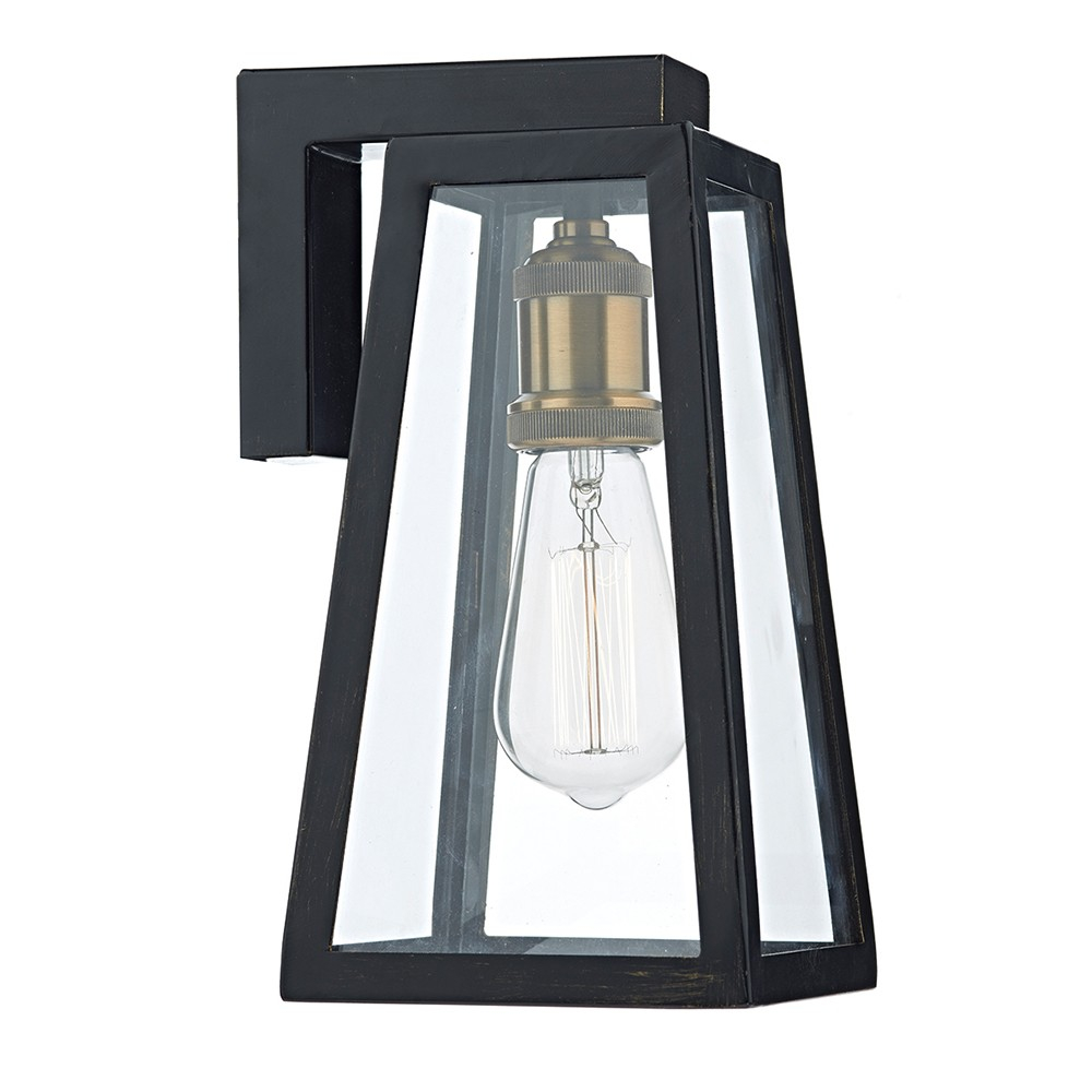 Duval Outdoor Wall Lantern Light Black Outdoor Wall Brackets