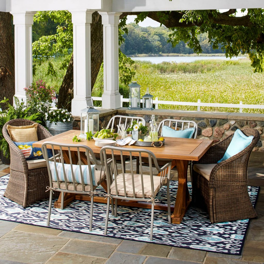 Farmhouse Patio Furniture Finds O Is For Outdoors Patios Decks