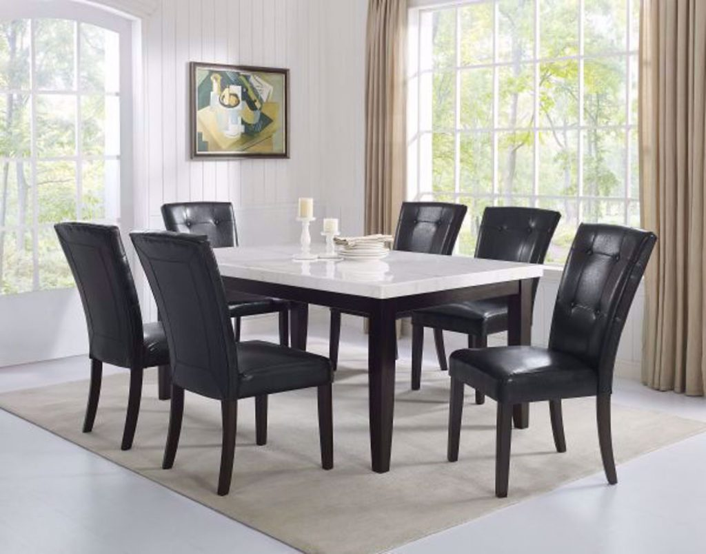 Francis Seven Piece Dining Set