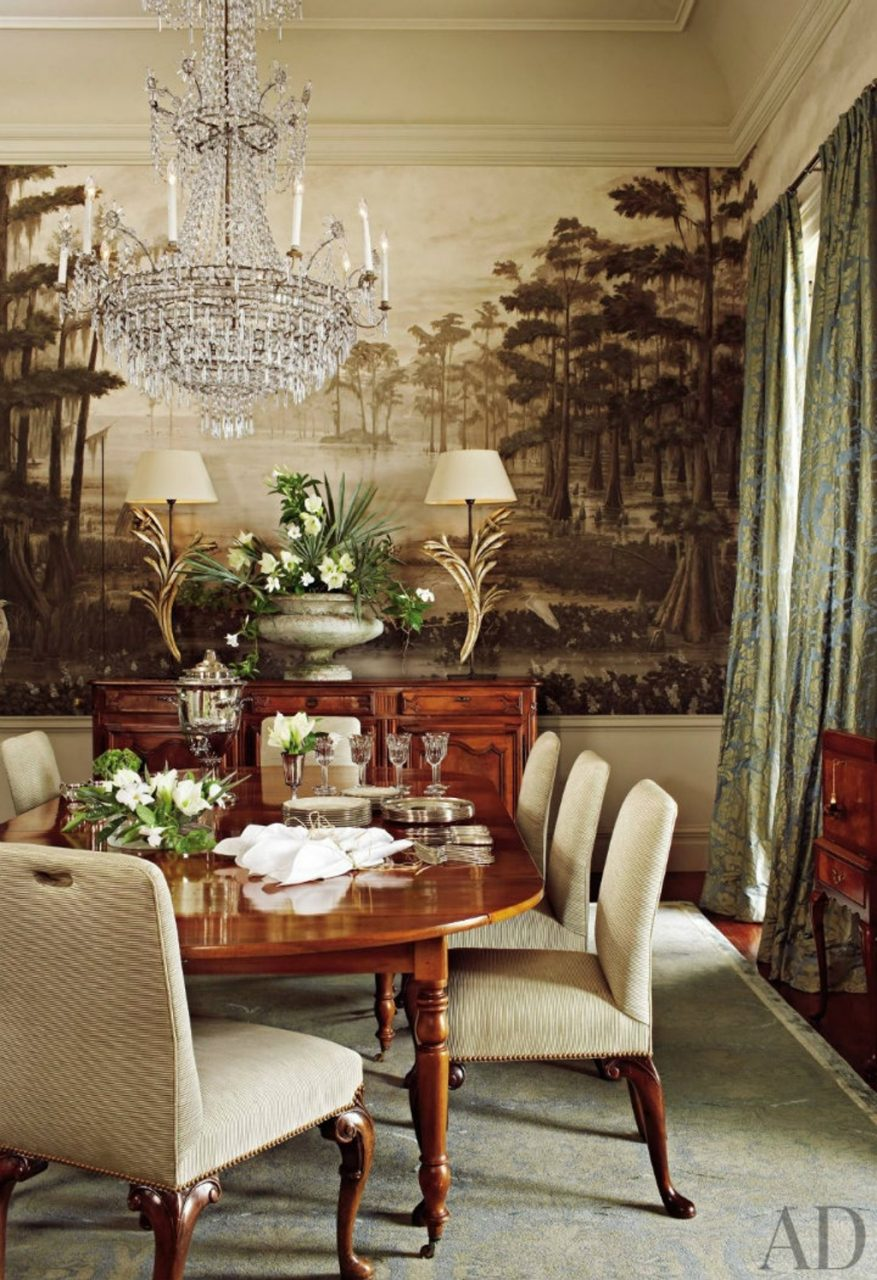 Furniture Traditional Dining Room Ann Holden New Orleans Louisiana