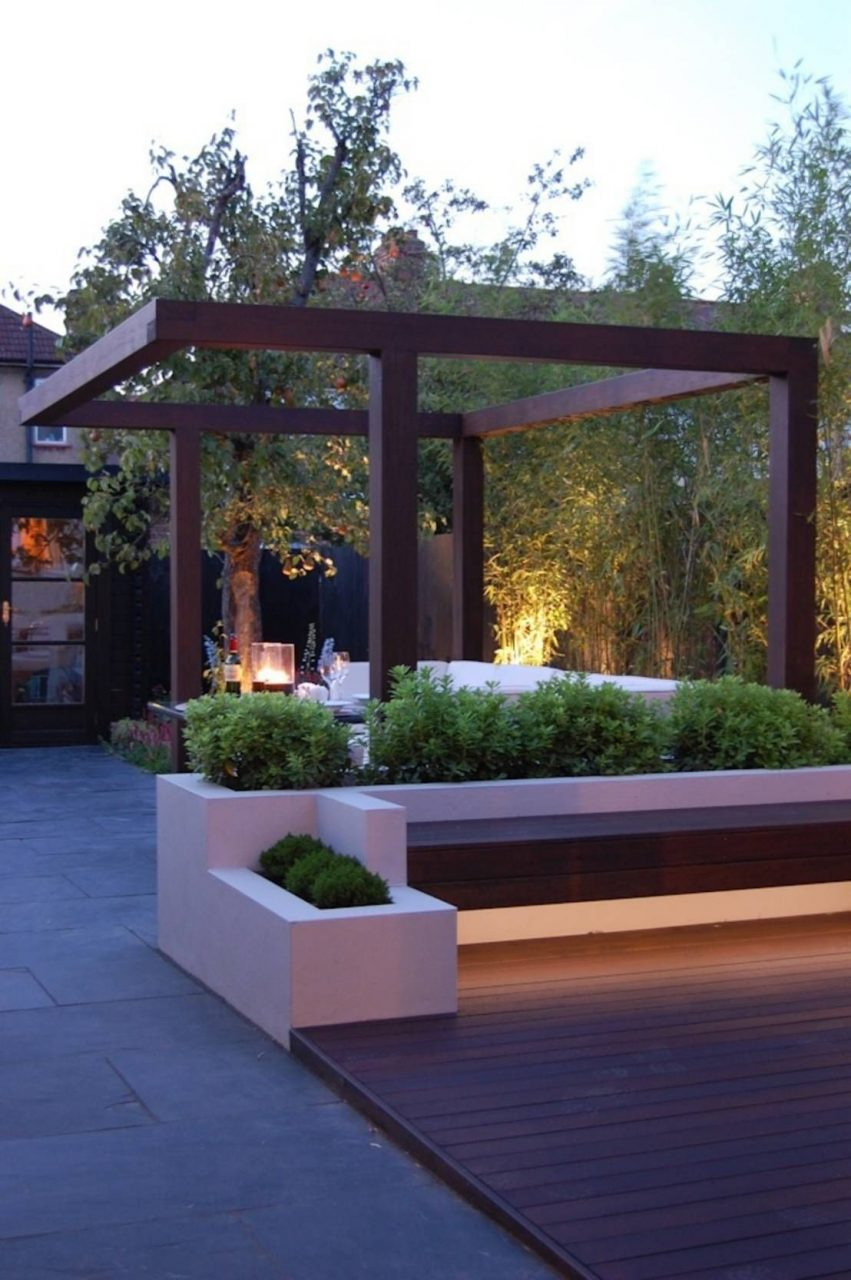Garden In West London Paul Newman Landscapes Outdoor Designs