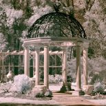 Gazebo Weddings Garden Romantic Decorate Gazebo Weddings Gazebo