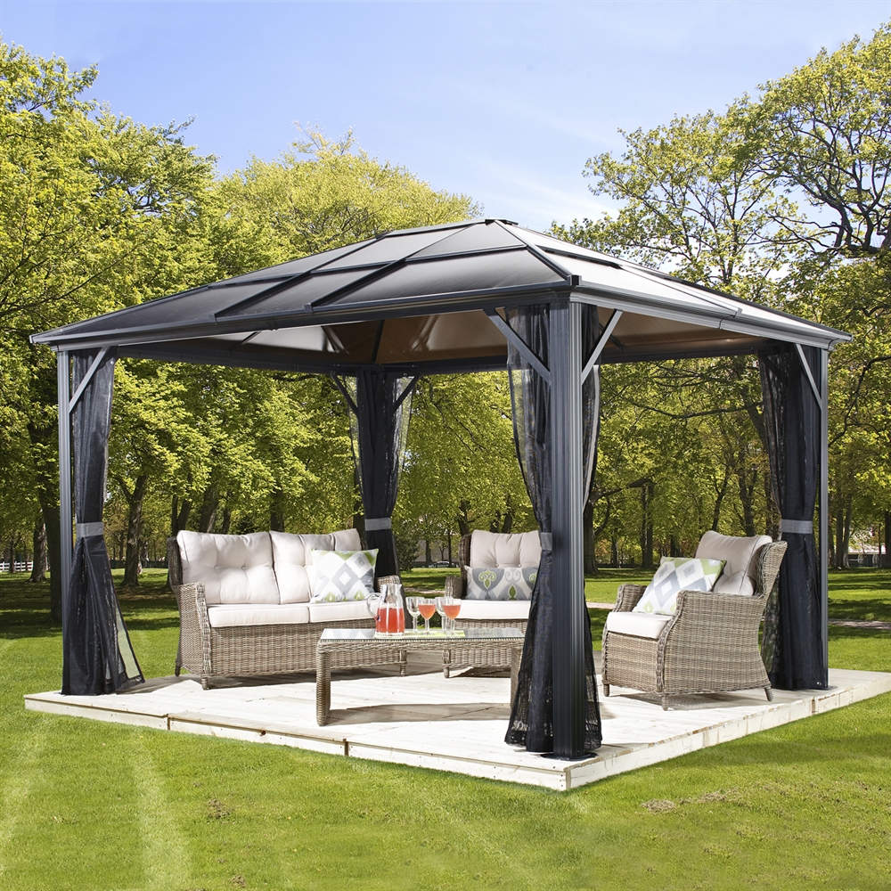 Gazebos Hard Top Sun Shelter Soft Top More Lowes Canada