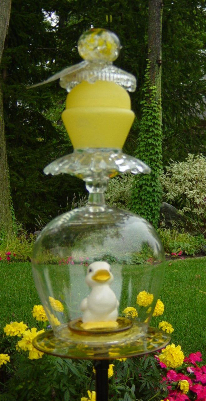Gazing Glass Garden Glass Garden Glass Art Glass Garden