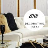 Glam Lux Living Room Ideas Black White And Gold Youtube