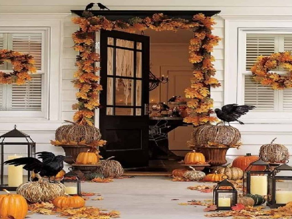 Good Front Porch Fall Decorating Ideas Home Design Ideas