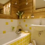 Pretty Yellow Bathroom