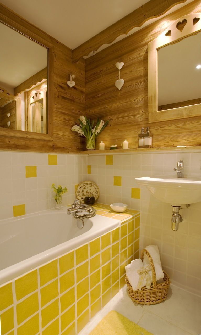 Gray And Yellow Bathroom Decoration Furniture Powerful And Pretty