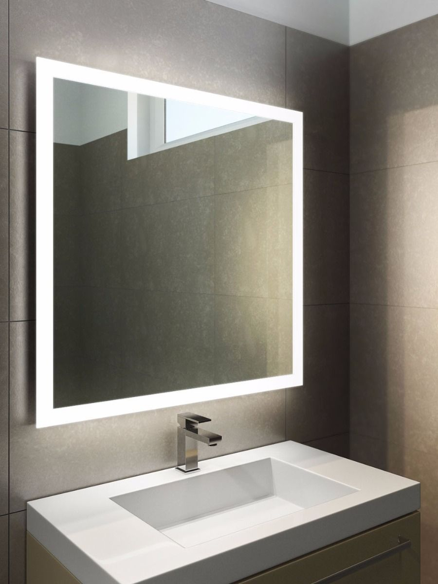 Halo Led Light Bathroom Mirror 843 Illuminated Bathroom Mirrors