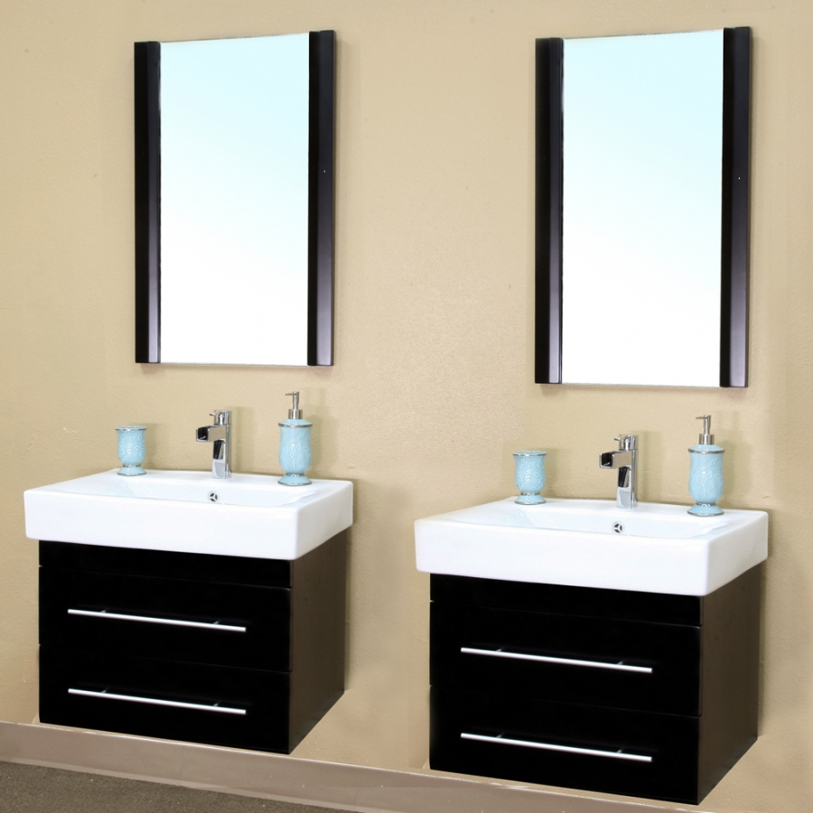 Hanging Small Double Sink Vanity Fortmyerfire Vanity Ideas Small