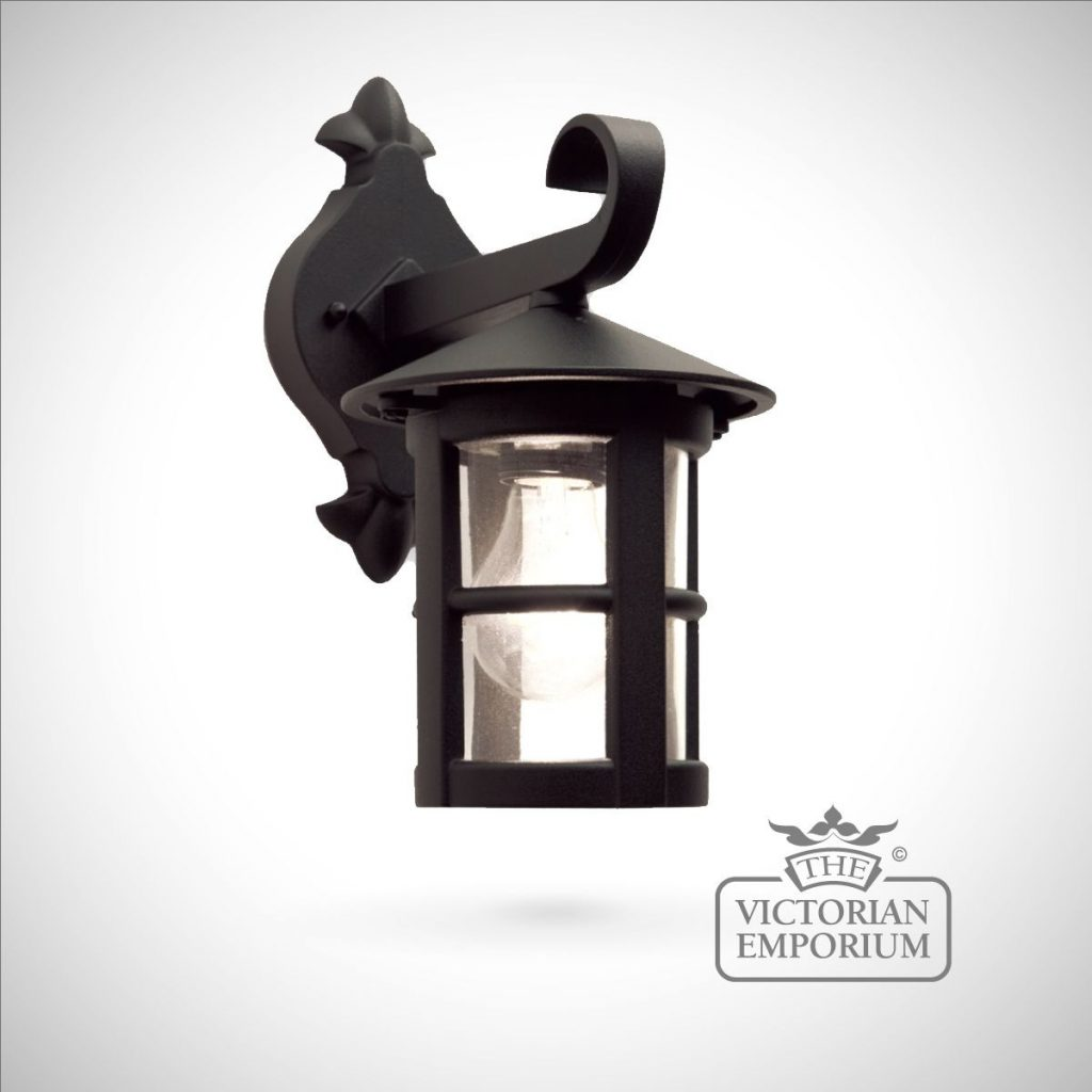 Hereford Plain Small Wall Lantern Outdoor Wall Lights