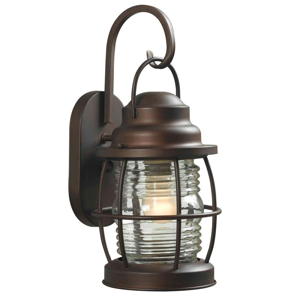 Home Decorators Collection Harbor 1 Light Copper Bronze Outdoor
