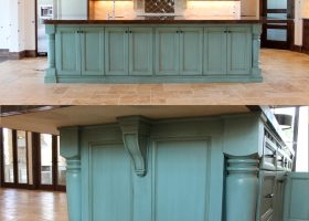 Turquoise Island Kitchen Floor